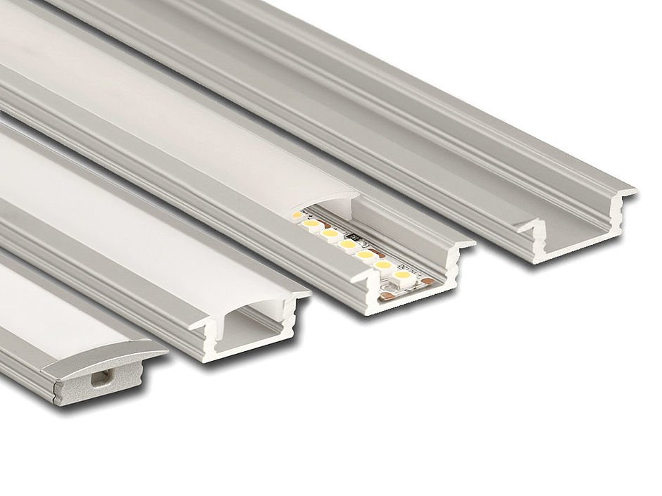 LED-einbau aluminiumprofil-matt-diffusor LED Stripes